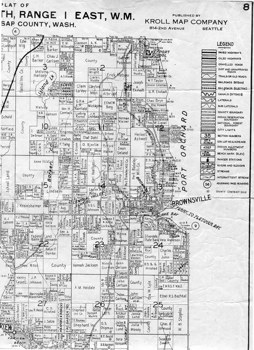 Kitsap County Map