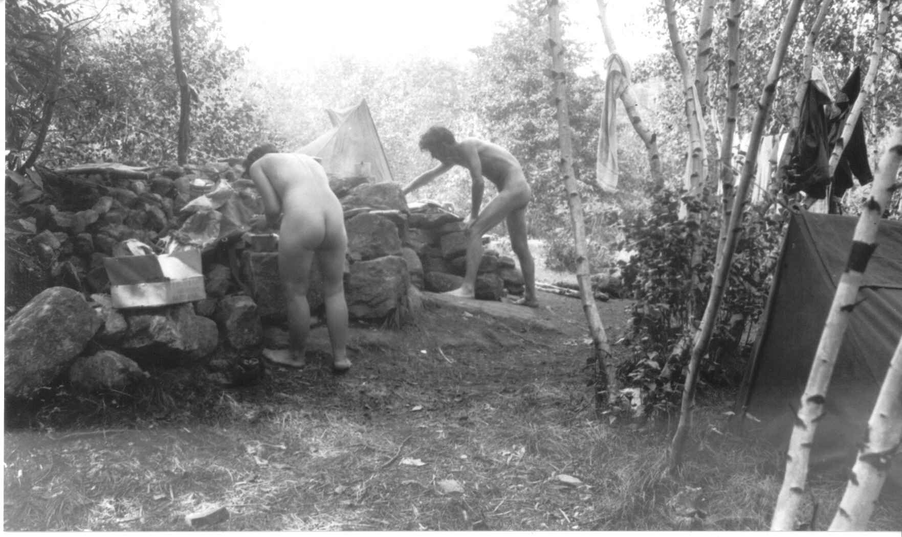 The farm nudist camp